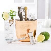 Aura Hammered Copper Bar Tools Set