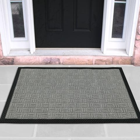 DirtOff Loop Carpet Natural Rubber Door Mat
