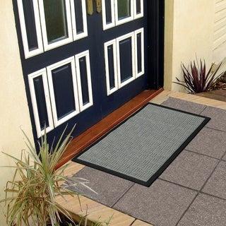 Ottomanson Loop Carpet Natural Rubber Door Mat