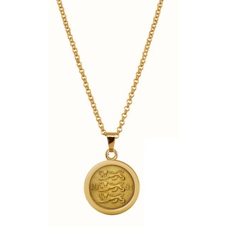 American Coin Treasures Three Lions Coin Pendant