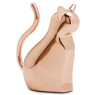 Umbra Anigram Copper-plated Cat Ring Holder
