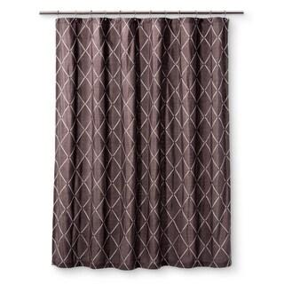 Homewear Wellington Grey Shower Curtain