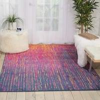 Nourison Passion Multicolor Area Rug - 5'3 x 7'3
