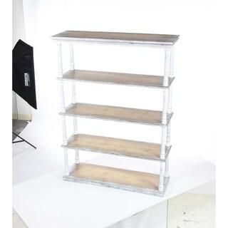 Benzara Brown Wood Shelf
