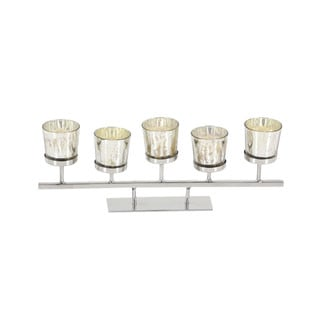 Comely Stainless Steel Glass Votive Holder