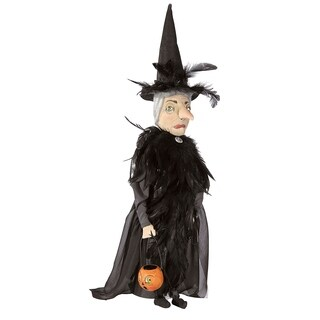 Beatrice Witch Joe Spencer Gathered Traditions Art Doll - Black