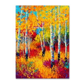 Marion Rose 'Autumn Dreams' Canvas Art