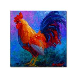 Marion Rose 'Rooster Bob 1' Canvas Art