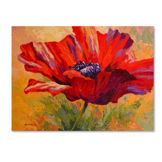 Marion Rose 'Red Poppy II' Canvas Art