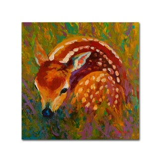 Marion Rose 'New Fawn' Canvas Art
