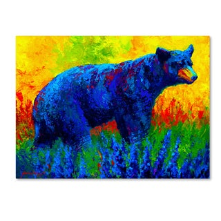 Marion Rose 'Loafing In The Lupin' Canvas Art