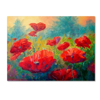 Marion Rose 'Field of Poppies' Canvas Art