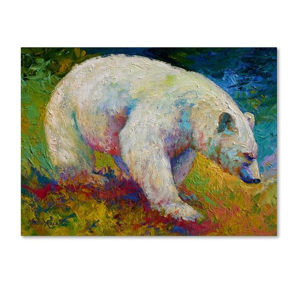 Marion Rose 'Creamy Vanilla' Canvas Art