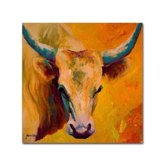 Marion Rose 'Creamy Texan' Canvas Art
