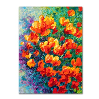 Marion Rose 'Cal Poppies' Canvas Art