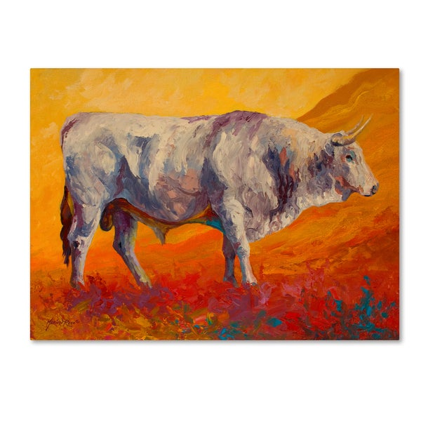 Marion Rose 'Bull Market' Canvas Art