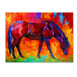 Marion Rose 'Bay Mare II' Canvas Art
