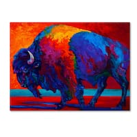 Marion Rose 'Abstract Bison' Canvas Art