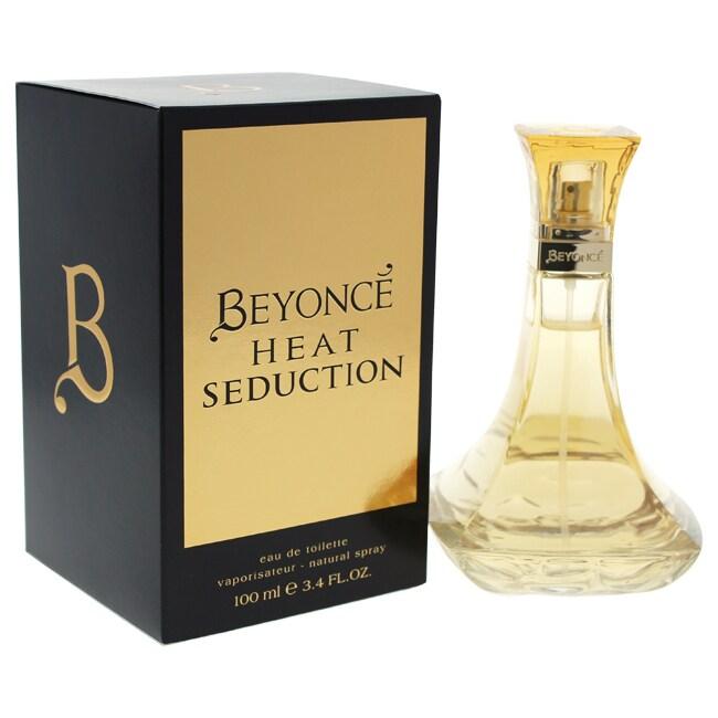 Beyonce Heat Seduction Women's 3.4-ounce Eau de Toilette ...
