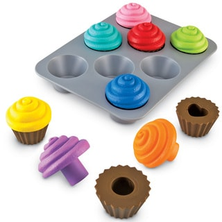 Learning Resources Smart Snacks Shape-sorting Cupcakes