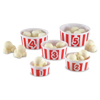 Learning Resources Smart Snacks Count 'em Up Popcorn Playset