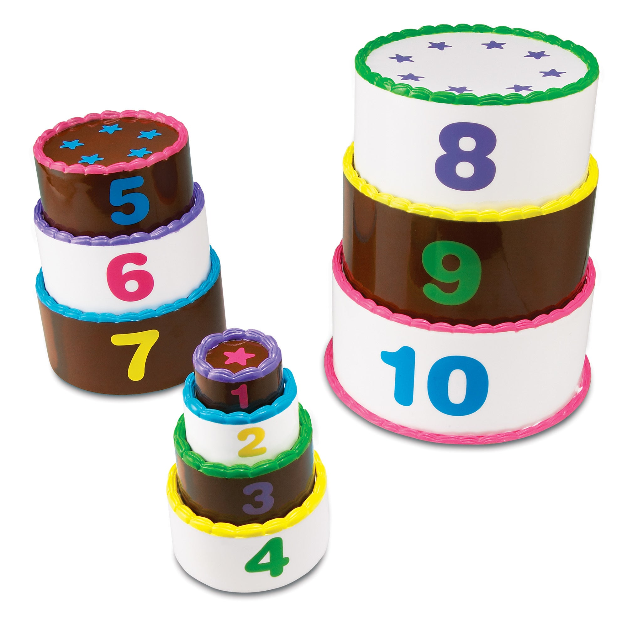 Learning Resources Smart Snacks Stack & Count Layer Cake ...
