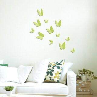 WS1014 - Walplus 3D Glow Butterflies