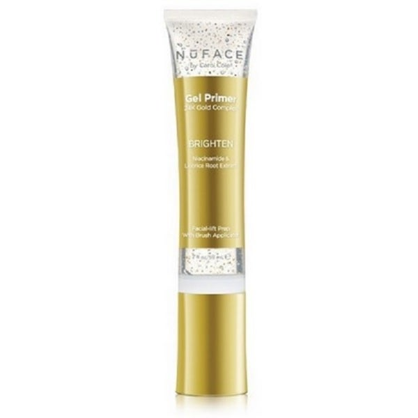 NuFACE 24K Gold Fragrance-Free 2-ounce Brighten Primer Gel