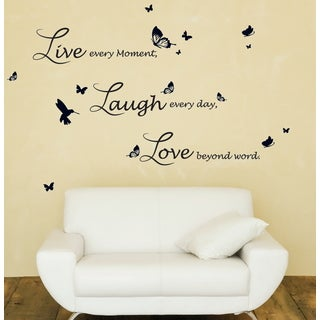 WS4015 - Lucida Live Laugh Love