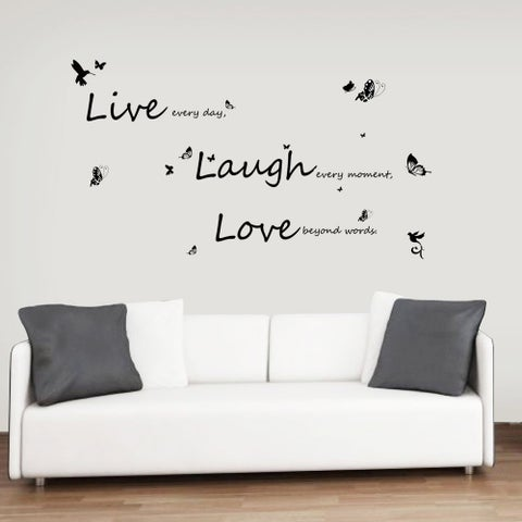 WS4011 - Vivid Live Laugh Love