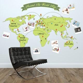WS12013 - Around the World Map