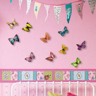 WS1021 - 3D Colorful Butterflies