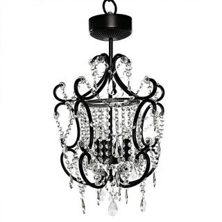 Poetic Wanderlust Tracy Porter Crystal Cordless Chandelier with Remote