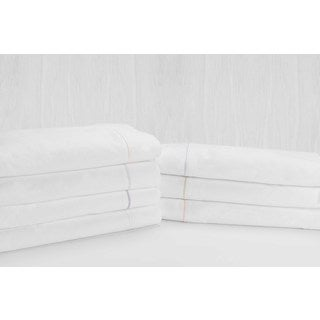 Sleep Like A King Cotton 500 Thread Count Fretwork Sheet Set Designed by Larry and Shawn King