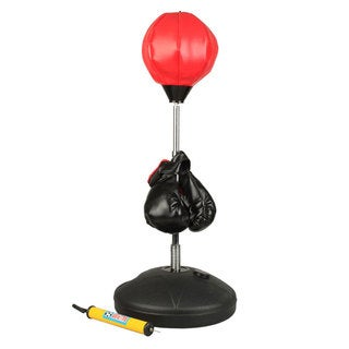 Adjustable Speed Ball Boxing Punching Ball Set