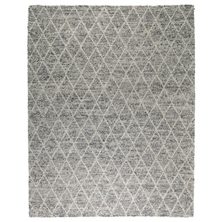 Kosas Home Handwoven Diamond Looped Wool Rug (8' x 10')