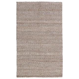 Kosas Home Handspun Gallinger Silver and Bleached Jute Rug (5' x 8')