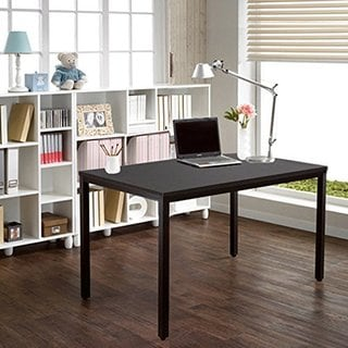 "Need Computer Desk 55"" Large Size Office Desk Computer Table Writing Desks Black Brown"