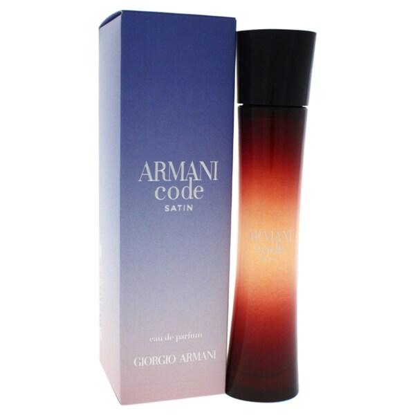 0696881043b82 Giorgio Armani Armani Code Satin Women  x27 s 1.7-ounce Eau de Parfum