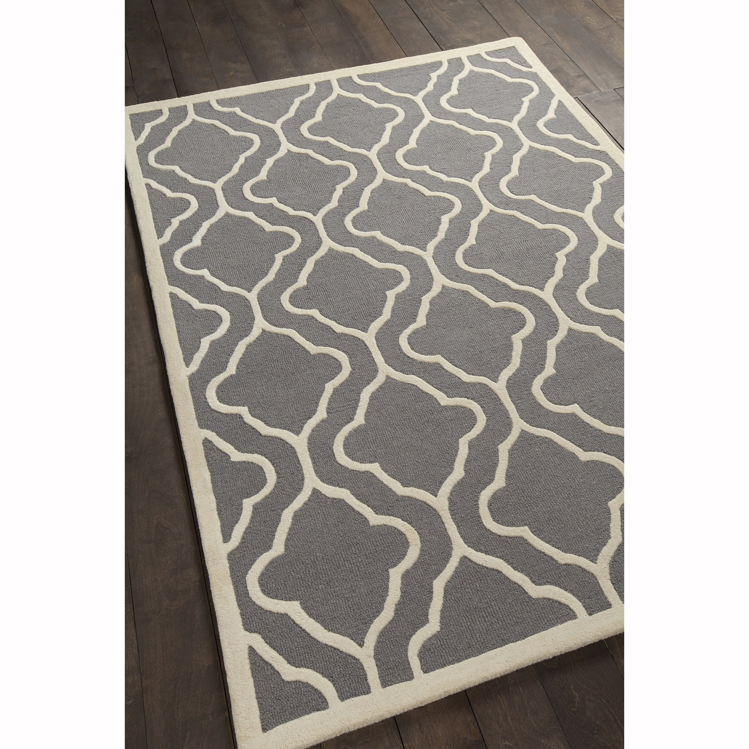 Artist's Loom Hand-tufted Contemporary Geometric Pattern ...