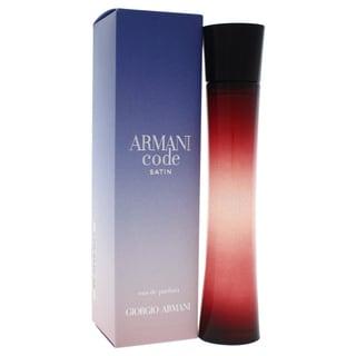 giorgio armani code women 39 s 2 5 ounce eau de parfum spray. Black Bedroom Furniture Sets. Home Design Ideas