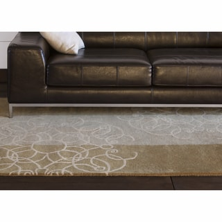 """Artist's Loom Hand-tufted Transitional Abstract Wool Rug (5'x7'6"""")"""