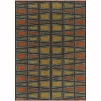 "Artist's Loom Hand-tufted Contemporary Geometric Pattern Wool Rug (5'x7'6"")"