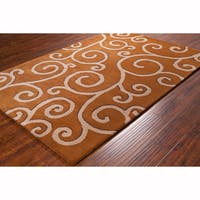 Artist's Loom Hand-tufted Contemporary Abstract Wool Rug (8'x10')