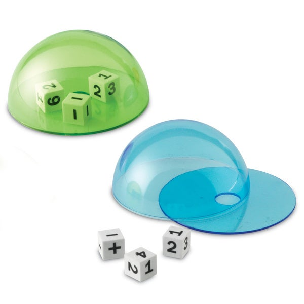 Learning Resources Dice Domes, Set of 4