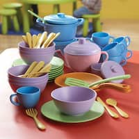 Classroom Café Dining Play Set, Set of 60