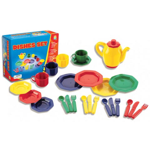 Learning Resources 25-piece Dishes Set