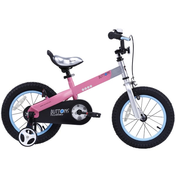 Buttons Kids Bike, 18 inch wheels, Matte Pink