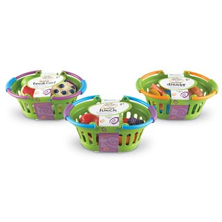Learning Resources New Sprouts Healthy Basket Bundle (Breakfast, Lunch, Dinner)