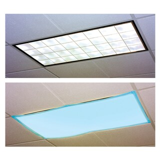 Educational Insights Fluorescent Light Filters (Tranquil Blue), Set of 4